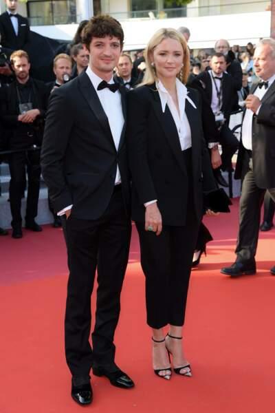 Virginie Efira et son compagnon Niels Schneider