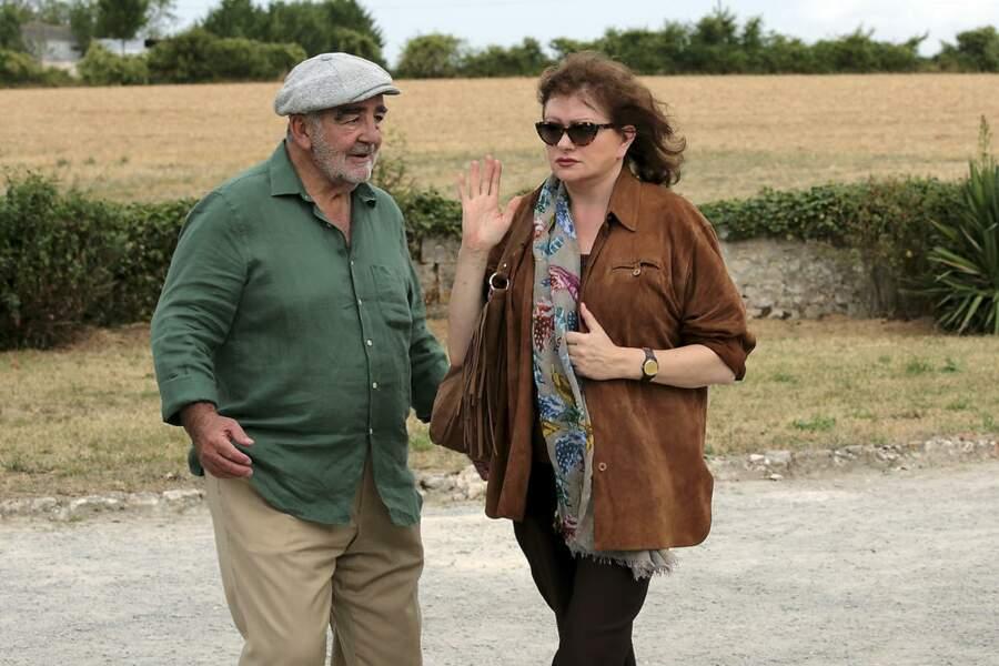 Catherine Jacob (Rosalie) avec Jean-Louis Foulquier (Victor)