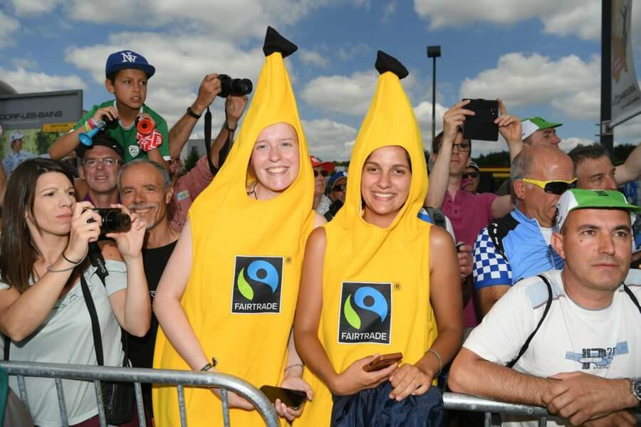Ces spectateurs-là ont la banane
