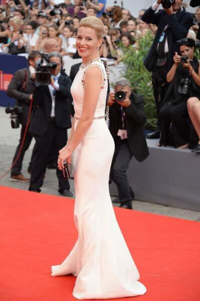 L'actrice Elizabeth Banks récemment passée à la réalisation avec Pitch Perfect 2, fait également partie du jury.