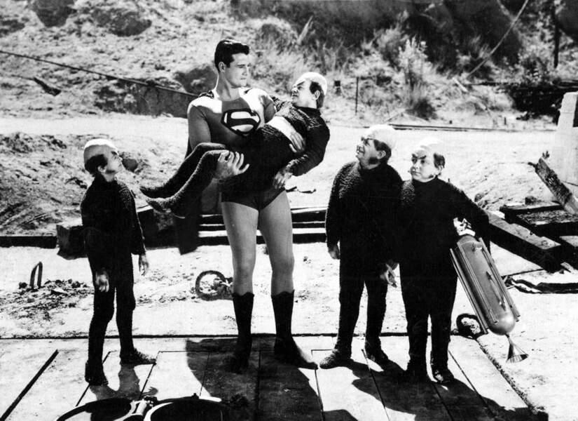 En 1951, George Reeves vient en aide... aux nains de l'enfer. Comme quoi, Game of Thrones a tout pompé.