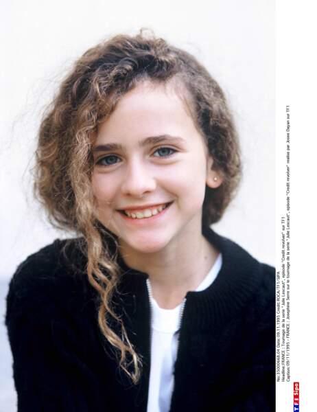 En 1992, elle intègre la série de TF1 Julie Lescaut