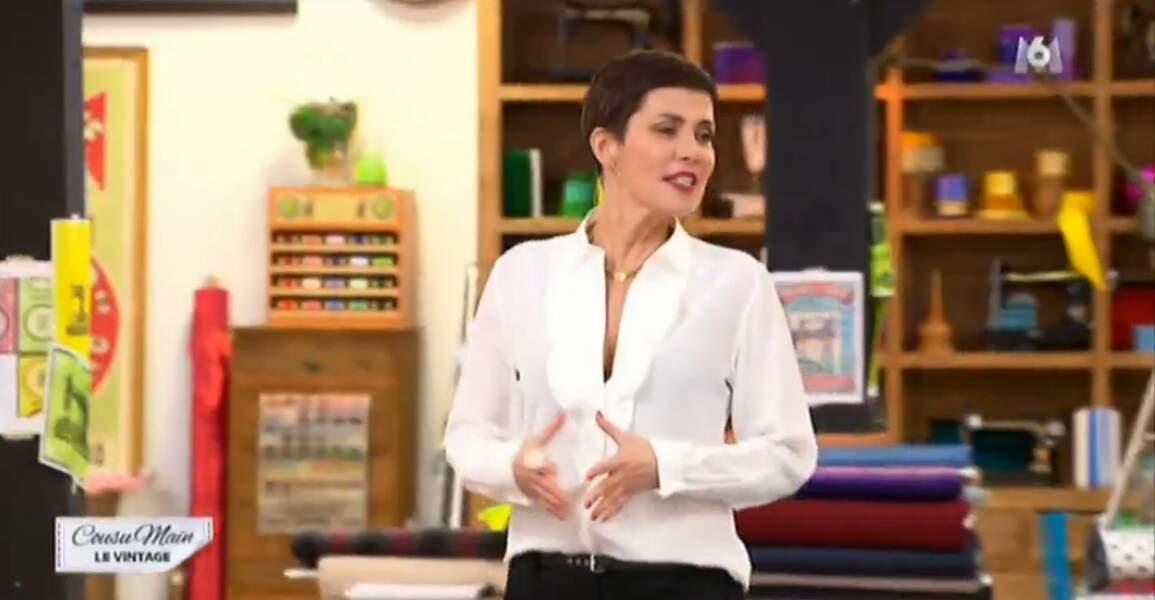 On commence notre diaporama look de la semaine avec la reine du style : Cristina Cordula !