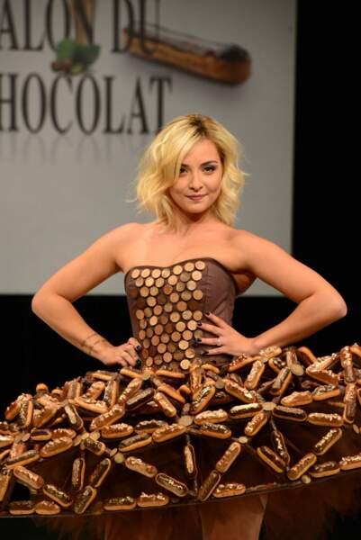 En 2017, elle défile également lors de l'inauguration du Salon du Chocolat.