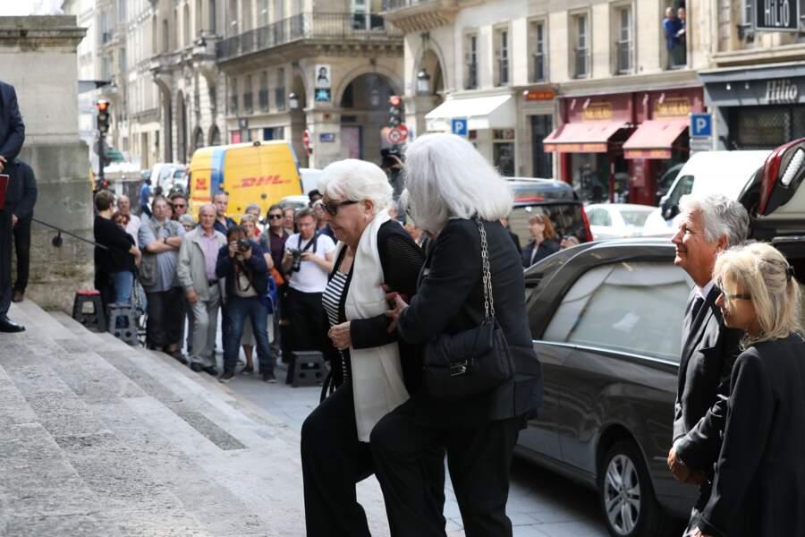 Line Renaud et Roselyne Bracchi