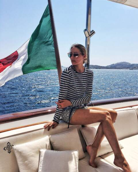 Destination à succès où se trouvait de nombreux people ! Comme Olivia Palermo.
