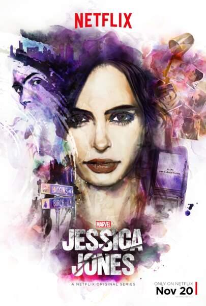 Nouvelle série très attendue de l'année et quelle surprise : Jessica Jones !
