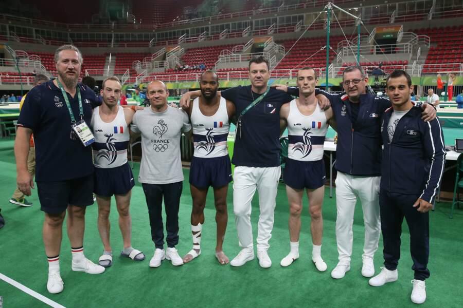 Les gymnastes français sont venus voir les installations