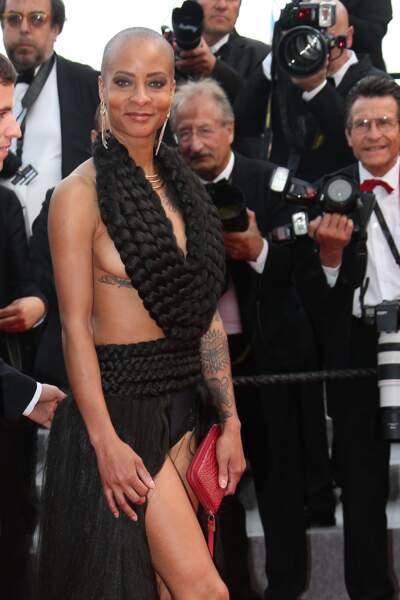 """La montée des marches pour le film """"Dheepan"""" au Festival de Cannes"""