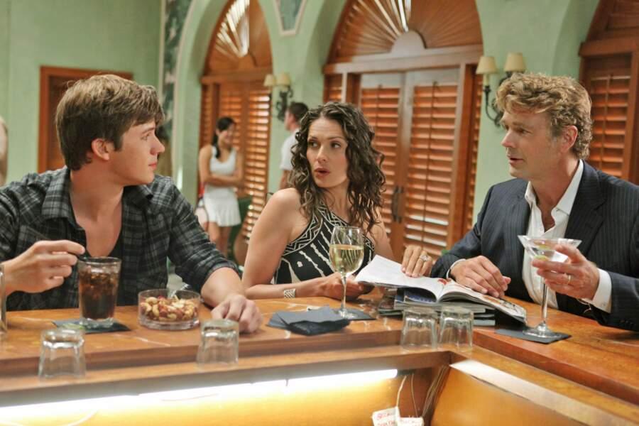 Le voilà transformé dans le reboot de Beverly Hills, 90210  (à droite)