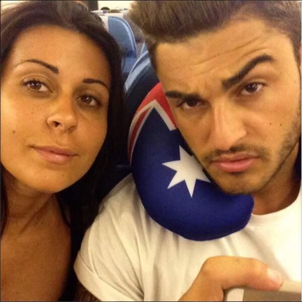 Shanna et Thibault dans l'avion, ENSEMBLE ???!!!! Le couple s'es-t-il reformé ?