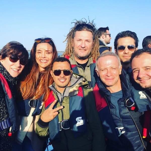 Olivier Delacroix et son équipe ont débarqué sur Fort Boyard pour rencontrer le Père Fouras