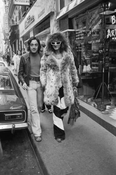Fourrure et patte d'eph' : pas de doutes, voilà les années 70 !