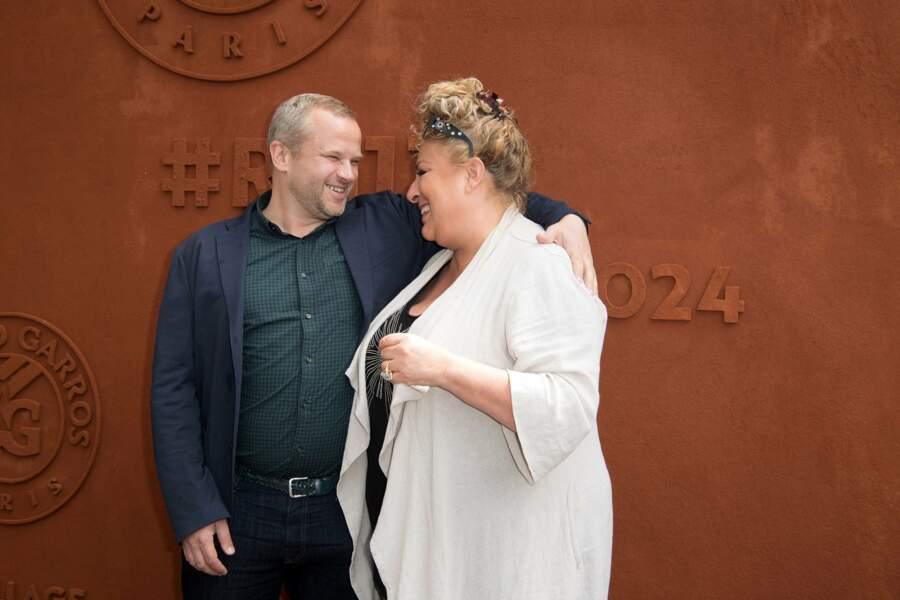 C'est beau l'amour pour Marianne James et son compagnon Bertrand