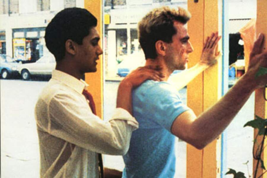 Daniel Day Lewis amoureux d'un jeune immigré pakistanais dans My Beautiful Laundrette