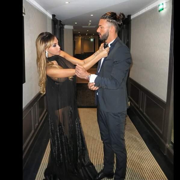 Elle, c'est Nabilla qui a monté les marches de Cannes au bras de son Thomas