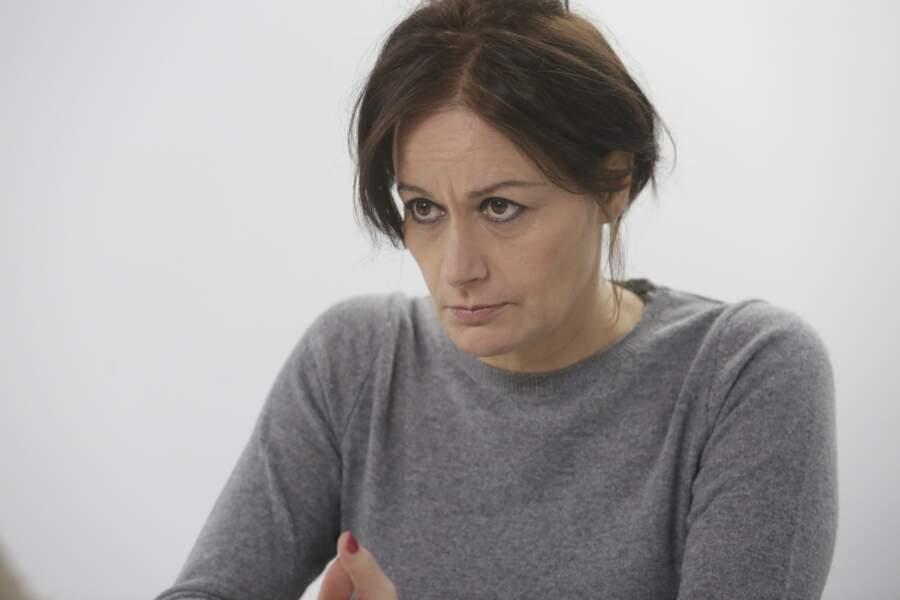 La psychiatre : l'actrice Catherine Vinatier
