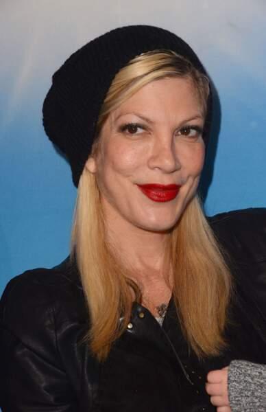 Tori Spelling à Los Angeles le 12 décembre 2013