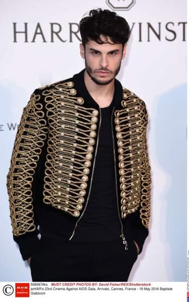 Baptiste Giabiconi, chanteur et mannequin, passé par l'émission Nouvelle Star