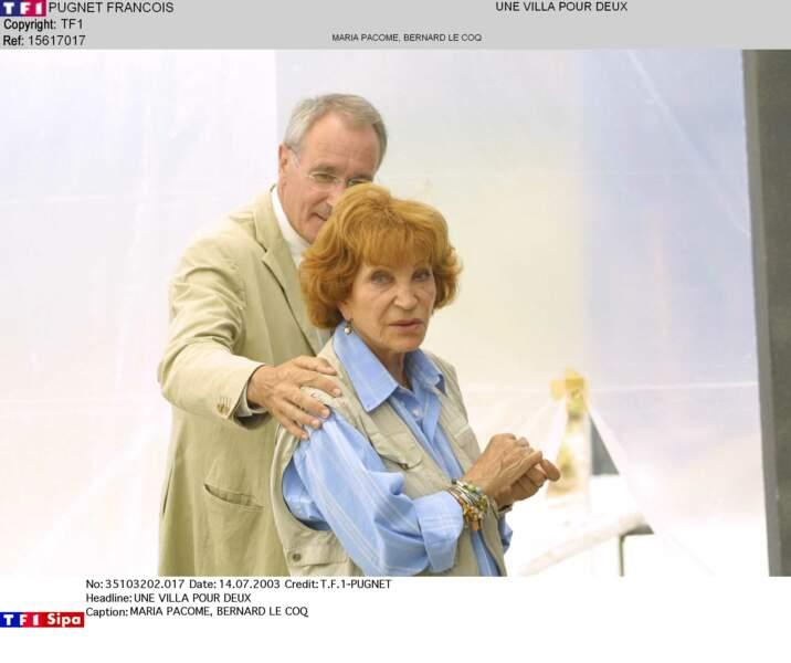 Maria Pacôme et Bernard Lecoq dans Une villa pour deux