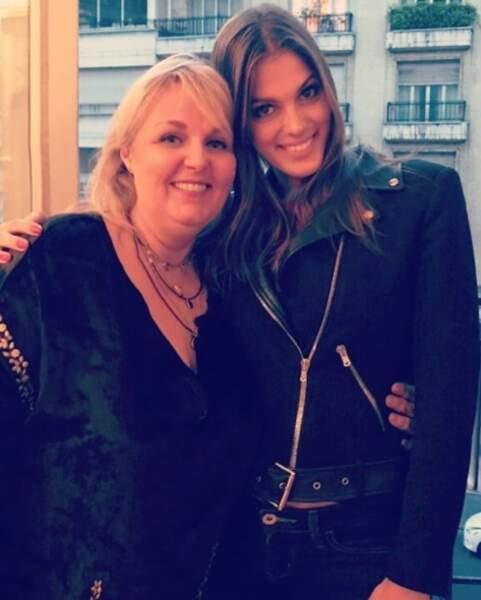 Miss Maroufle et Miss Univers : Valérie Damidot et Iris Mittenaere.
