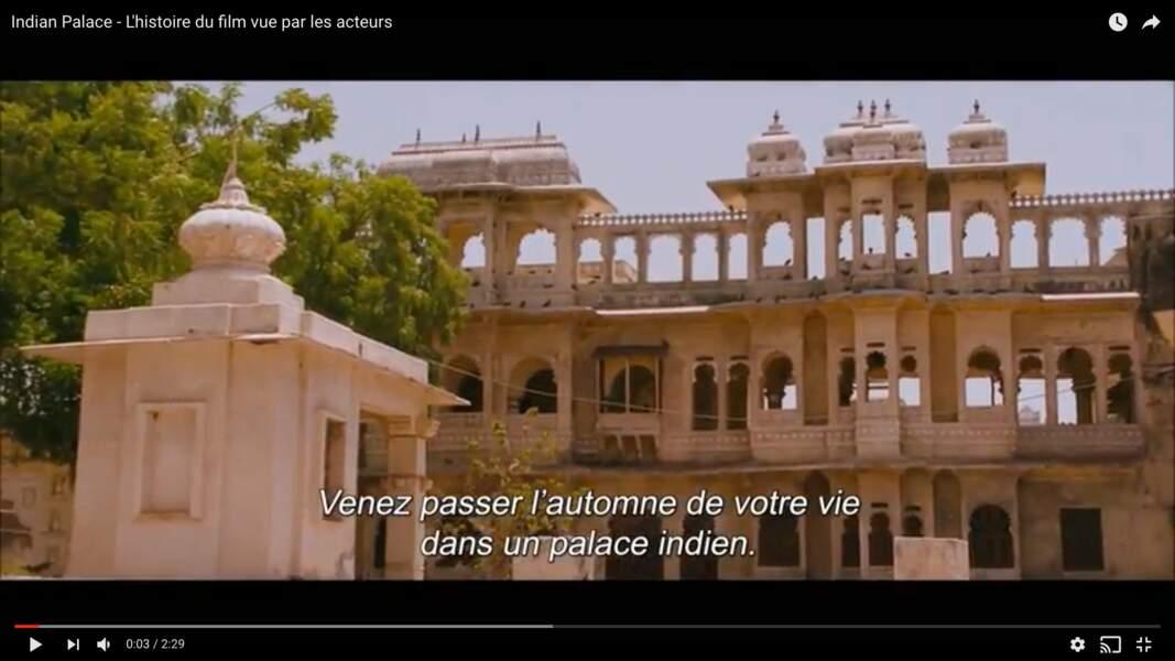 Le décor délabré de Indian Palace (2011)