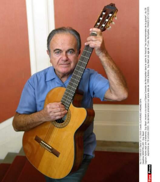 Le chanteur Guy Béart a perdu la vie à 85 ans.