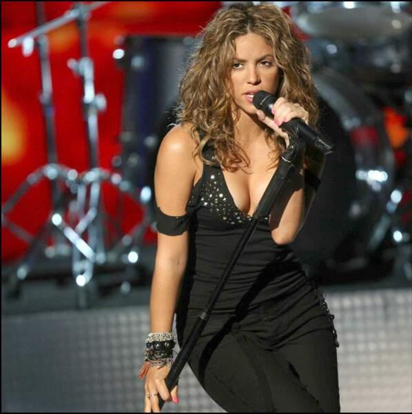 La pulpeuse Shakira en 2006