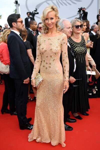 Lady Victoria Hervey a porté des tenues légères tout le festival...