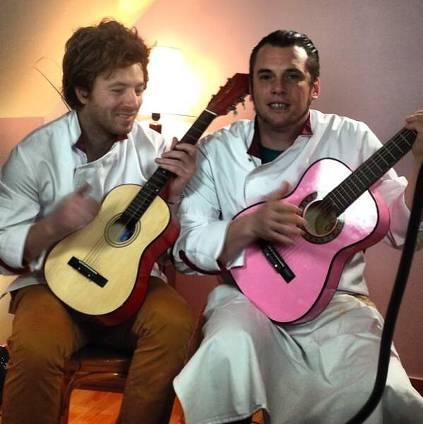 Jean et Norbert prêts à intégrer les Gypsy King