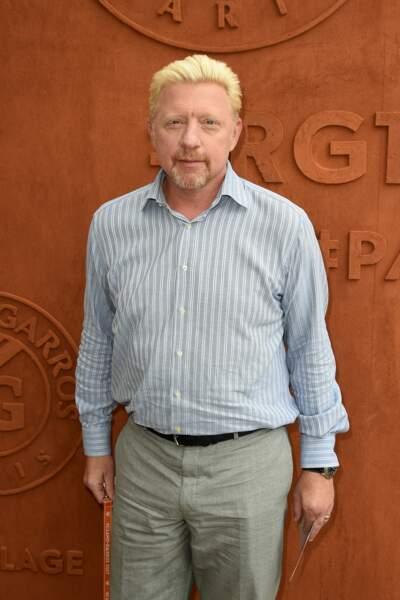 Un ancien habitué du tournoi : Boris Becker