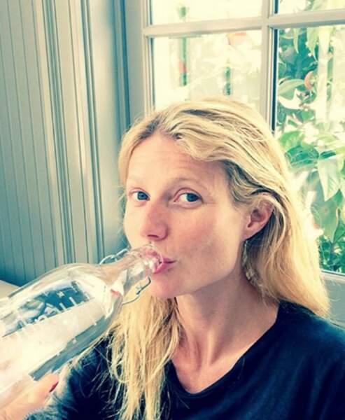 Gwyneth Paltrow sans make-up