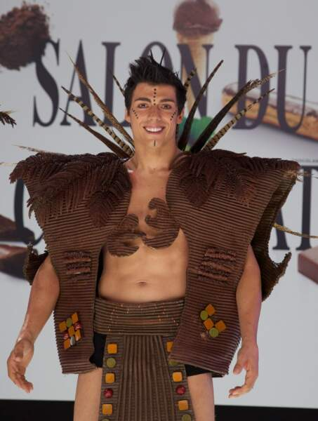 Taig Khris en guerrier tribal