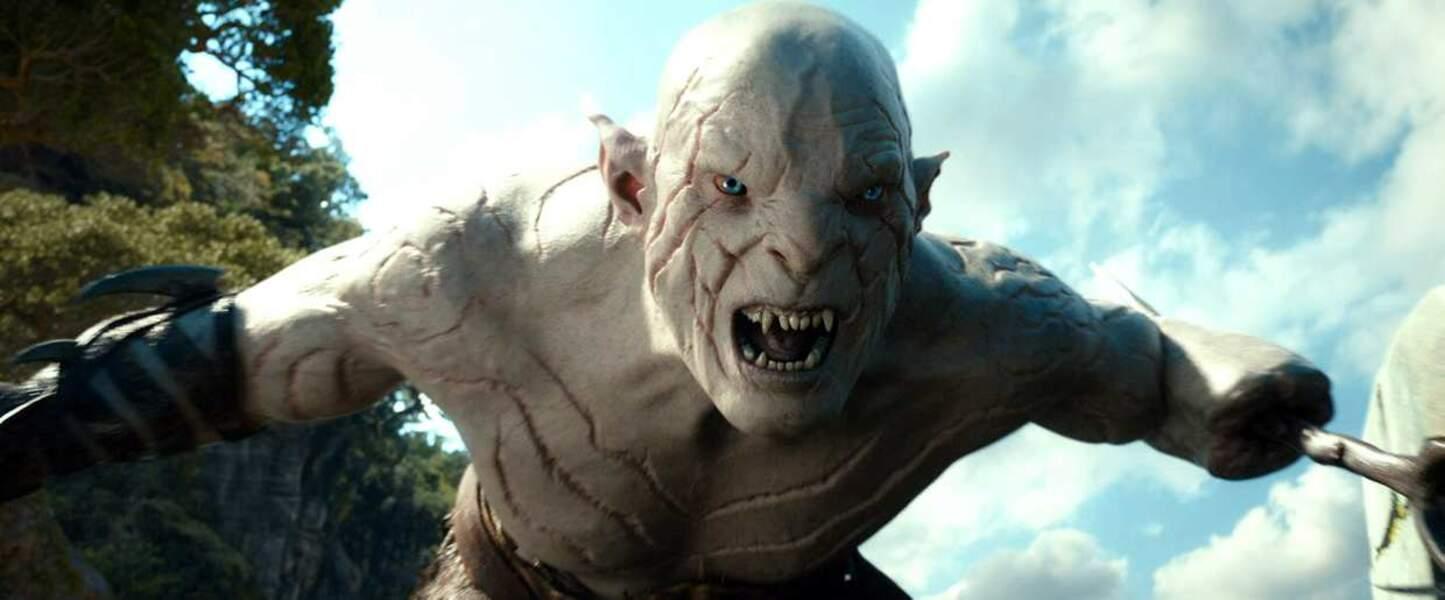 Mais à quoi peut bien ressembler l'acteur qui incarne l'Orque Blanc ?