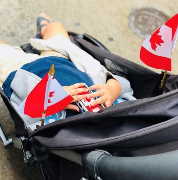 Balade aux couleurs du Canada pour Peter