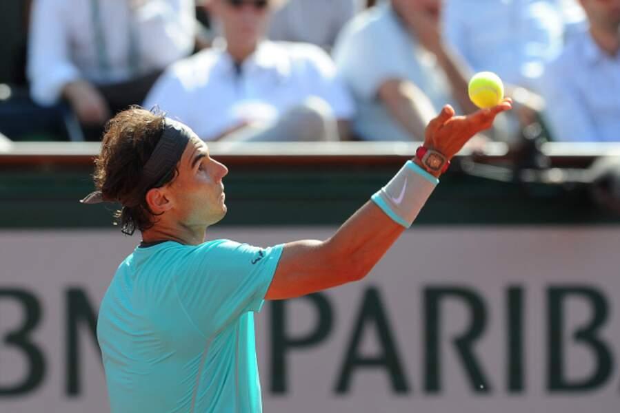 Gagner ou ne pas gagner Roland Garros neuf fois. Nadal a décidé d'opter pour l'option 1.