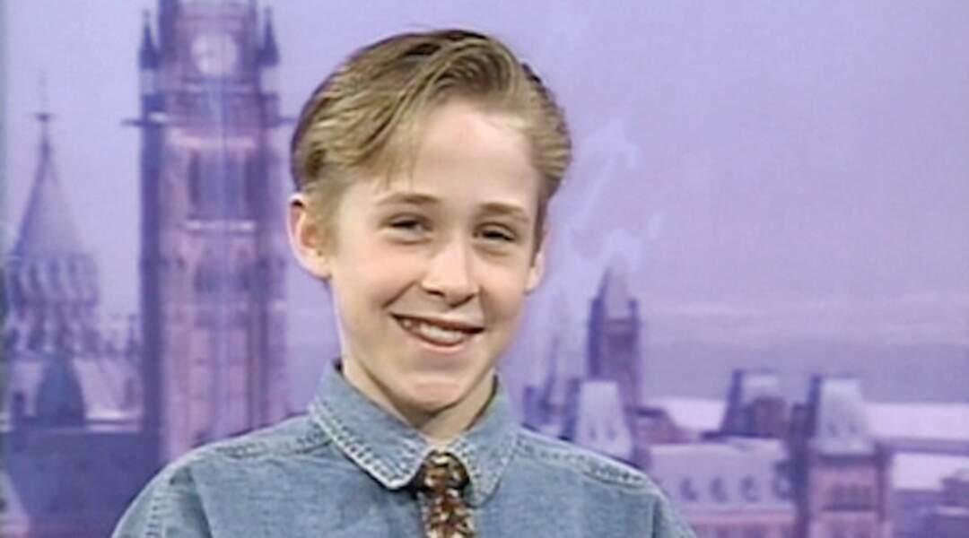 Ryan Gosling, mignon à croquer, a débuté aussi à 11 ans au Club de Mickey.