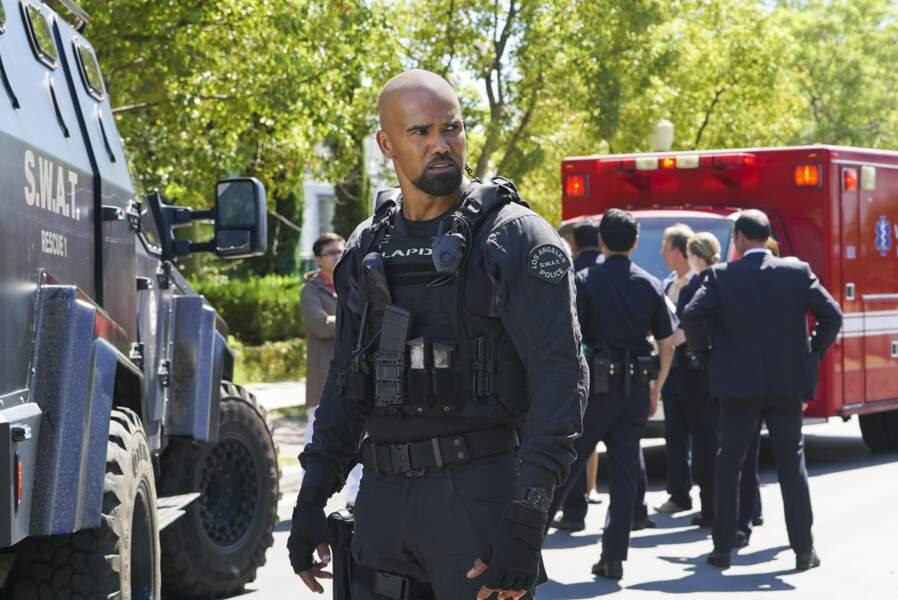 """Shemar Moore est le sergent Daniel """"Hondo"""" Harrelson, nouveau chef d'une unité de S.W.A.T de Los Angeles"""