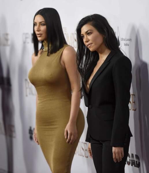 Elles sont inséparables les soeurs Kardashian !