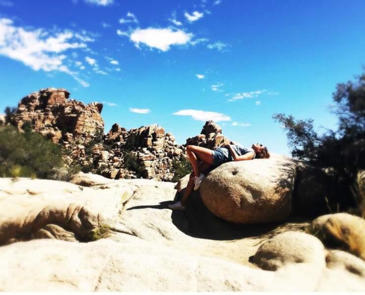 Sous le soleil exactement, dans le Parc national de Joshua Tree