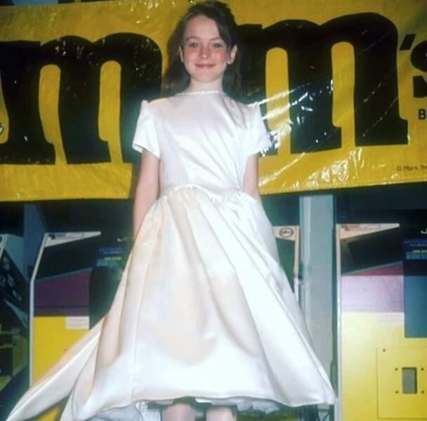 Qui est cette petite fille sage ? C'est Lindsay Lohan !