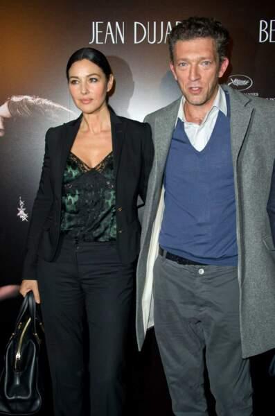 Vincent Cassel et Monica Bellucci se sont rencontrés sur le tournage de L'appartement en 1995.