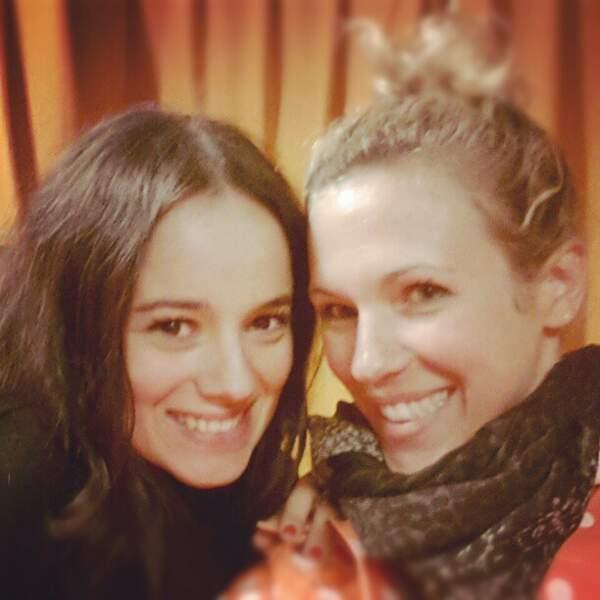 Lorie et Alizée se retrouvent après s'être quittées le weekend dernier sur Samedi soir on chante Goldman sur TF1