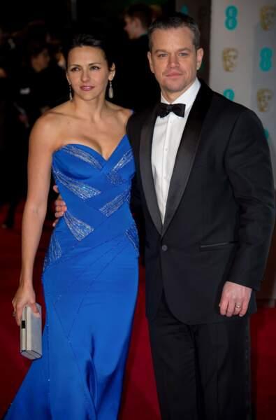 Matt Damon aussi. Il était accompagné de sa femme Luciana