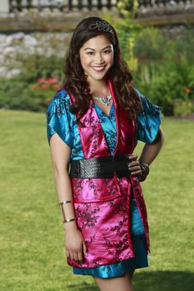 Lonnie, la fille de Mulan, adore les couleurs acidulées.