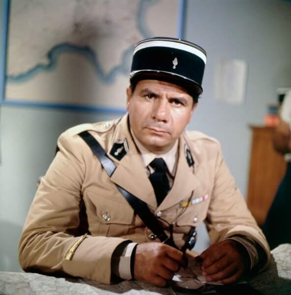 Michel Galabru, impayable Adjudant dans Le gendarme de Saint Tropez (1964)