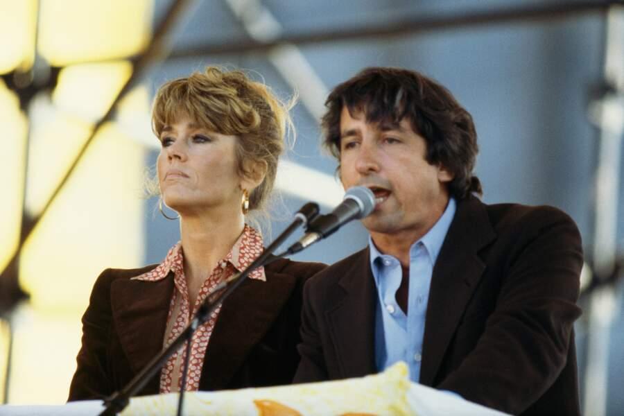 Jane Fonda épouse en 1973 le sénateur démocrate Tom Hayden