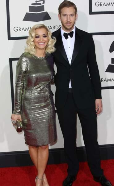 Rita Ora et son boyfriend Calvin Harris