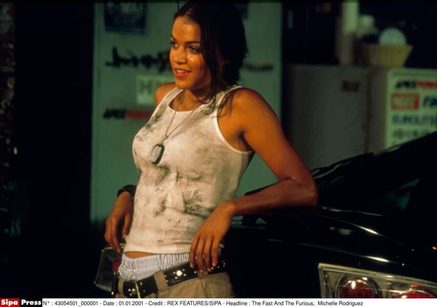 Michelle Rodriguez était là au commencement de la saga...
