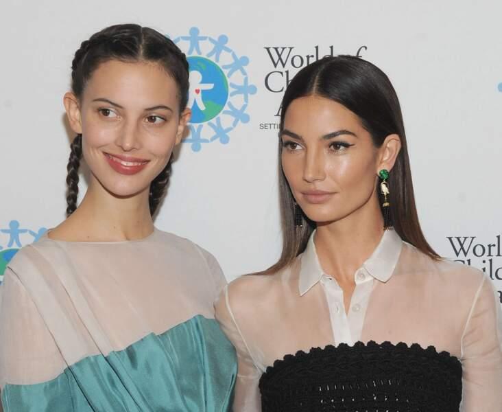 Les top-models Ruby et Lily Aldridge.